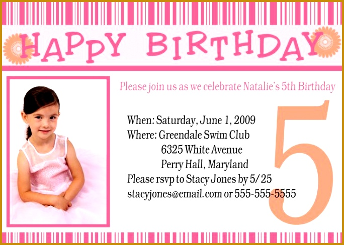 Birthday Party Invitations 488684