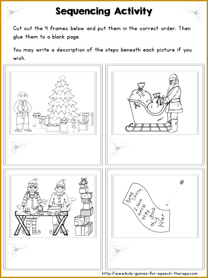 Christmas Speech and Language Activities Craftivity 669892