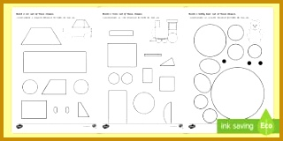 Shape Building Activity Sheet English Romanian 160320