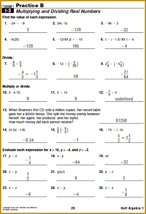 holt algebra homework help Pre Algebra Worksheets Systems of Equations Worksheets Math Aids Systems of Equations 471692