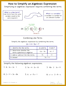 How to Simplify Algebraic Expressions 213276