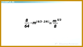 Quotient of Powers Example 6 Solution 158279