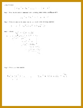 Graphing Rational Functions Notes 1 pages Long Division Notes 216167
