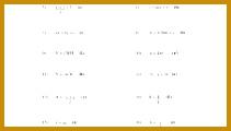 Gallery of Math Worksheets Algebra 1 120211