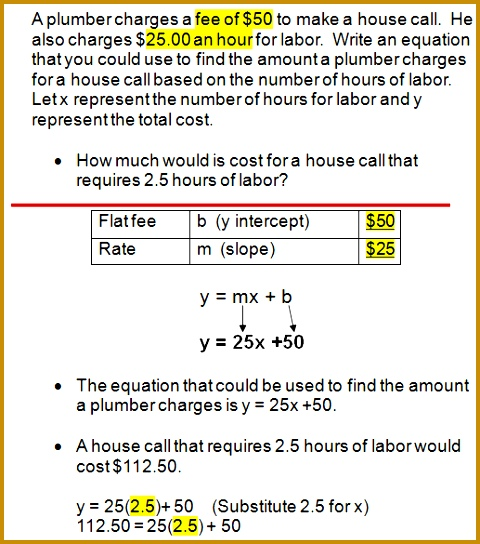 Linear Equation Word Problems Worksheet With Answers 544480