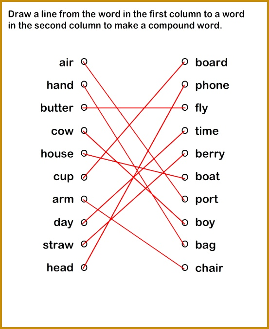 pound Words Worksheet for Practice 674553
