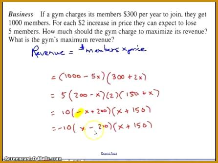 3 solving Quadratic Equations Using the Quadratic formula Worksheet