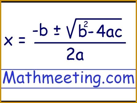 Quadratic Equation Math Worksheets Pinterest 334446