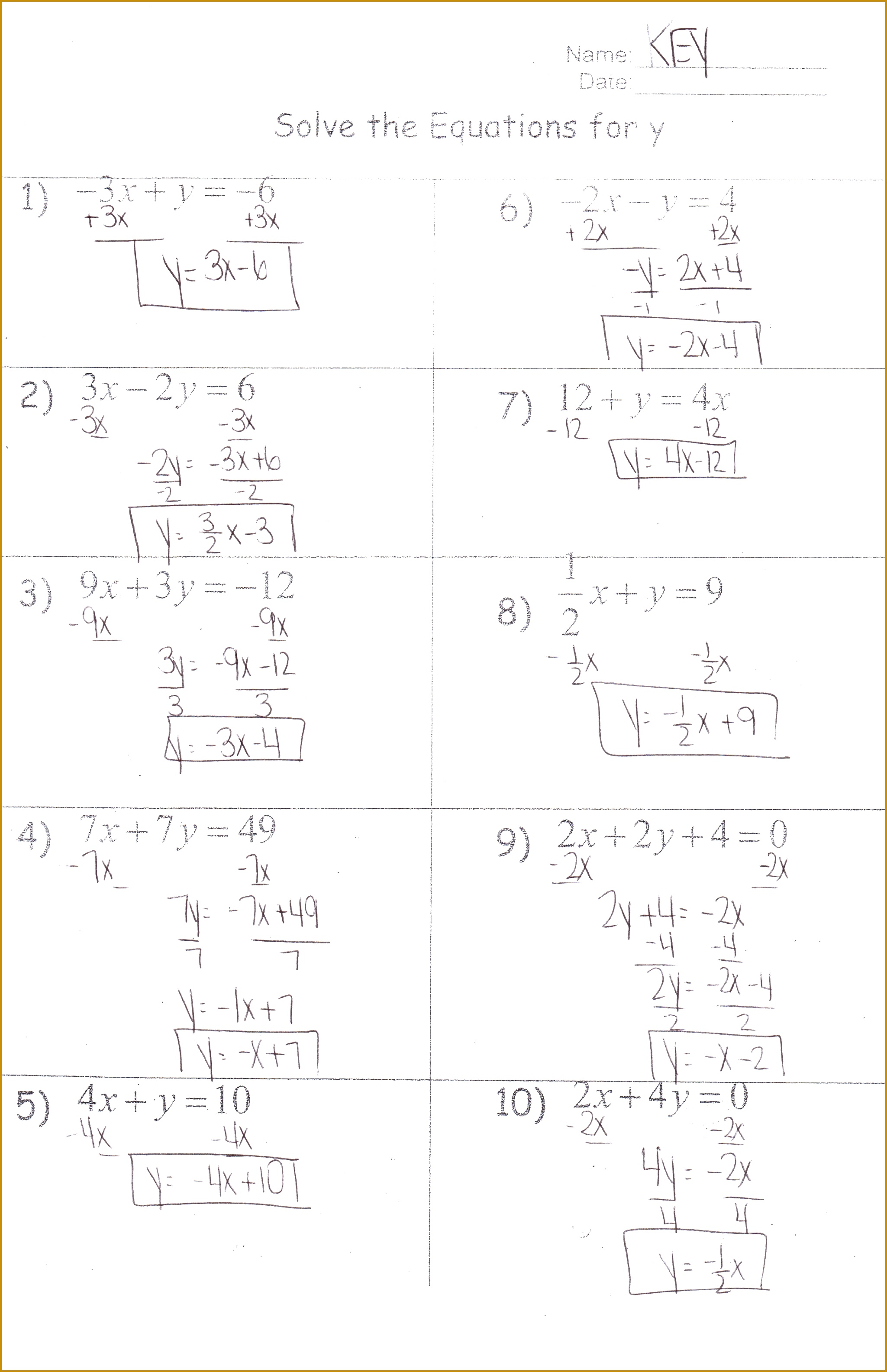 Solving Quadratic Equations Test Doc Tessshlo 31692049