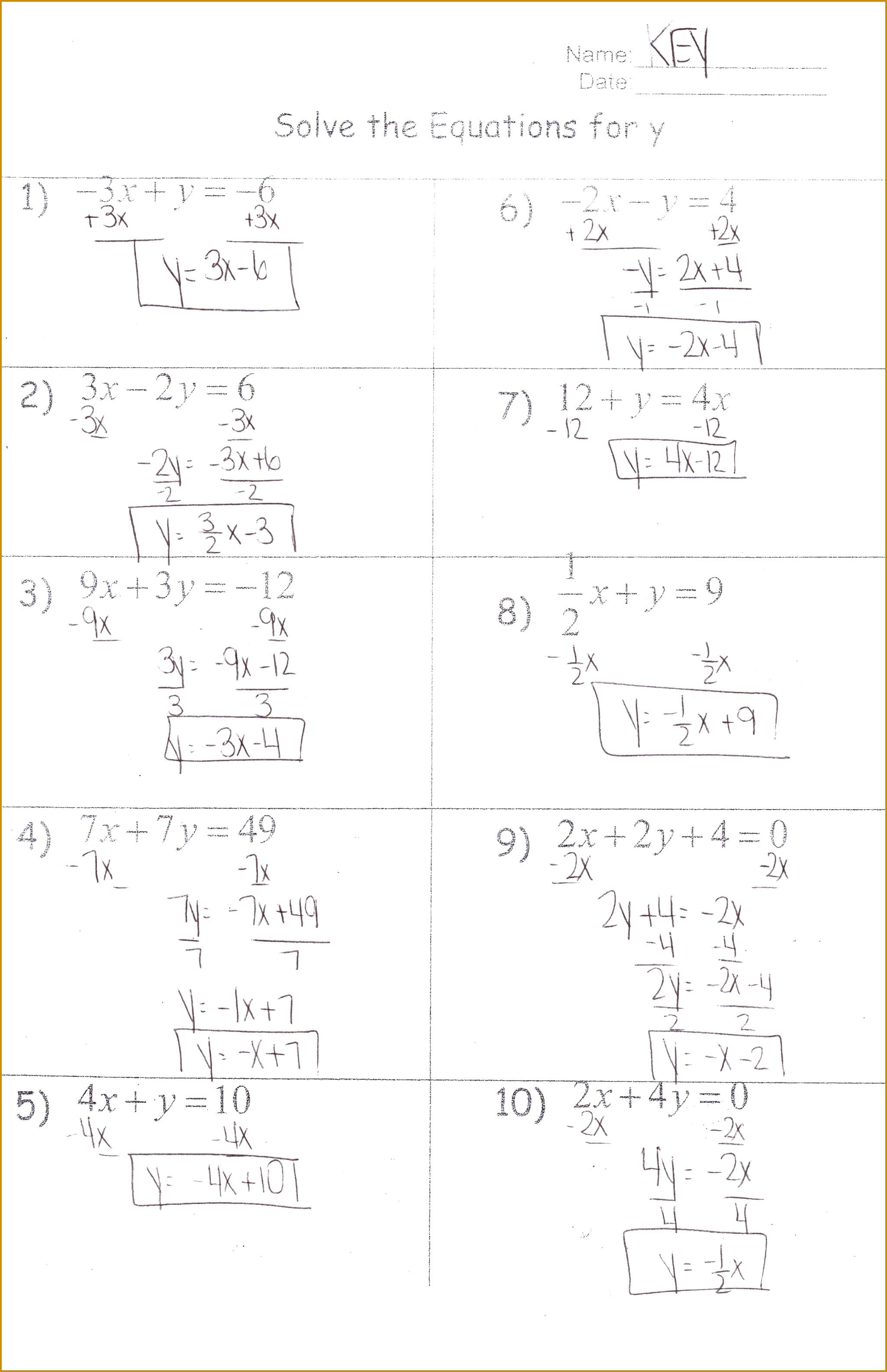 Solving Quadratic Equations Test Doc Tessshlo 31692049