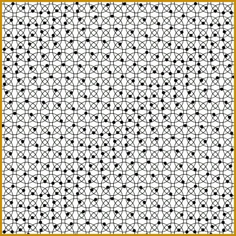 A mechanical wave created by each point moving in its own circle 465465