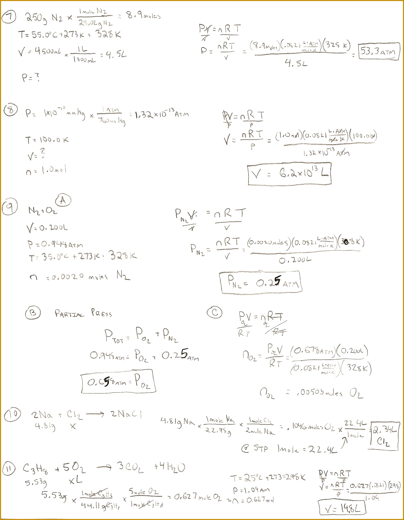 7 Stoichiometry Worksheet 2 Answer Key | FabTemplatez