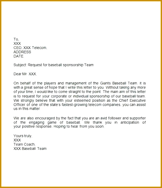 sponsor letter sponsor letter sample for letter for sports sponsor letter sample for student 660567