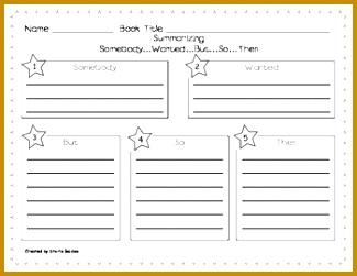 Somebody Wanted But So Then Summarizing Worksheet Stories by Storie TeachersPayTeachers 251325