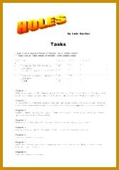 English teaching worksheets Holes Louis Sachar 238167
