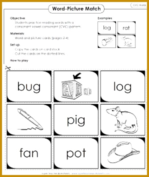 Phonics CVC Words Activity 354298