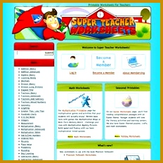 Super Teacher Worksheets 232232