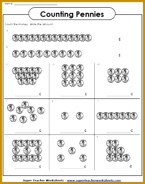 Check out this printable money counting worksheet Super Teacher Worksheets has worksheets for counting US 359283