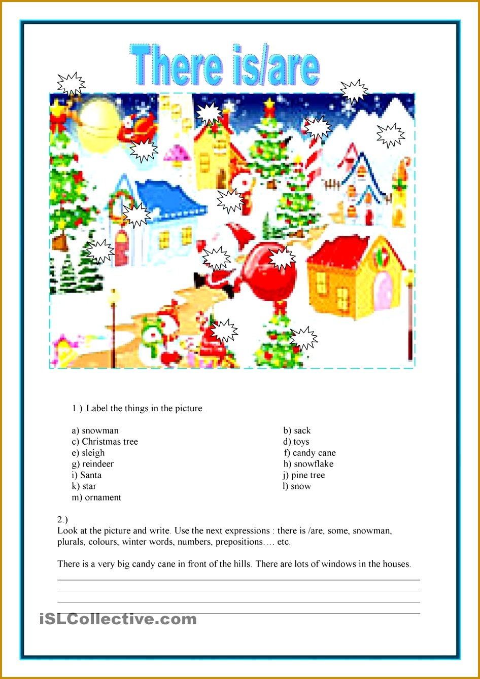 English Teaching Worksheets There Is Are 1339946