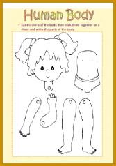 English teaching worksheets Human body 238167
