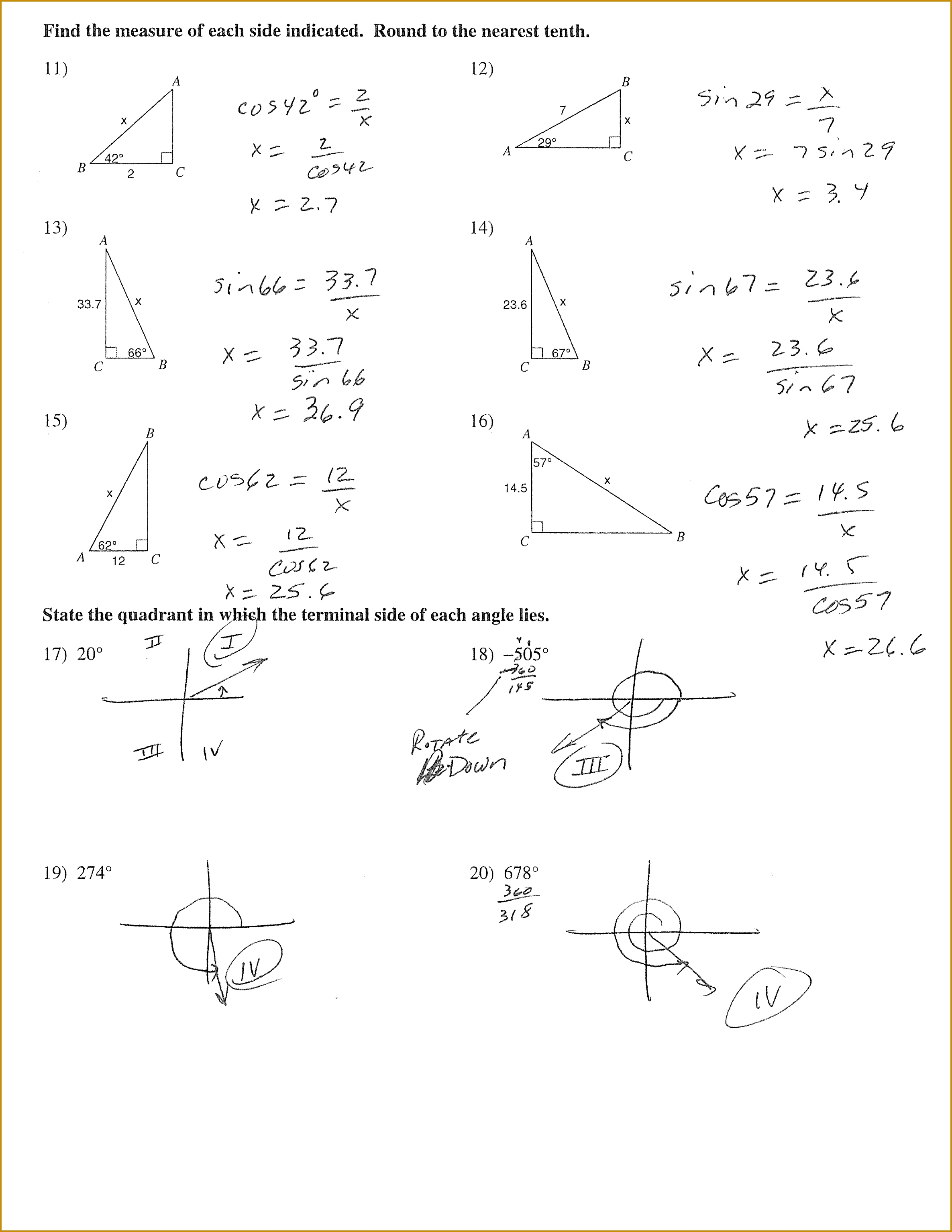 Right Triangle Trigonometry Worksheet Intrepidpath Mrs Hall S peak inverse voltage bridge rectifier circuit 30692371