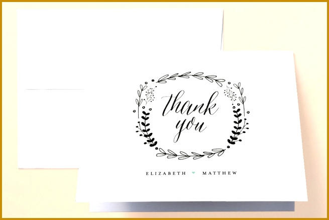Minted s Always wedding thank you cards 437655