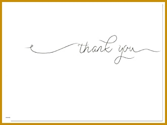 Simple Thank You Blank Cards 36 count Gray Envelopes Included 247330