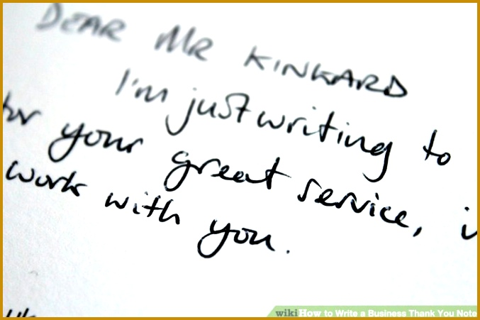 Image titled Write a Business Thank You Note Step 6 451677