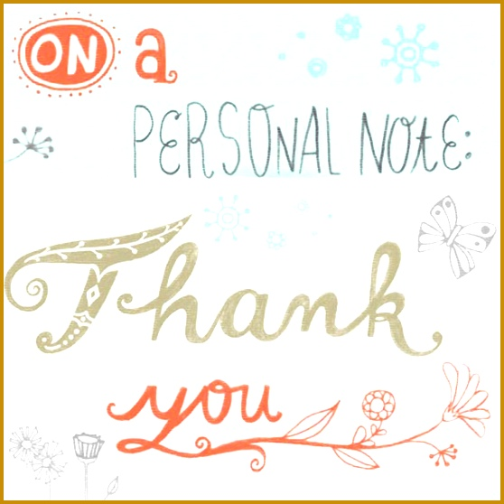 How to write a thank you note 558558