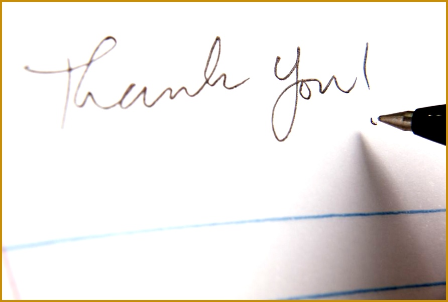 Thank you note 892603