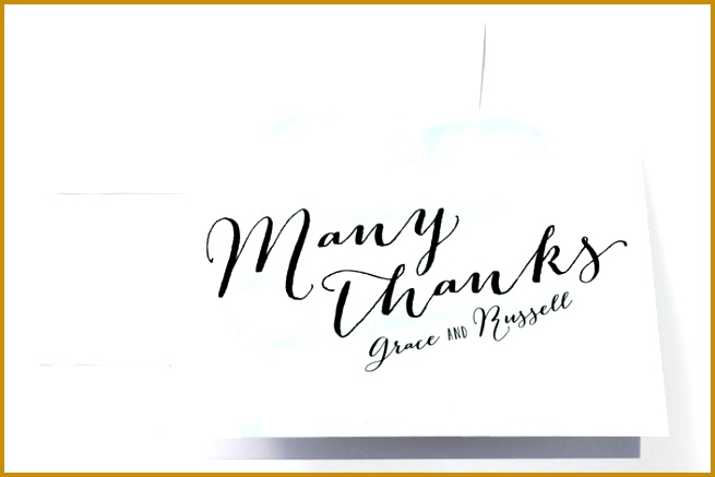 Minteds Pastel Watercolor Wash wedding thank you cards 437655