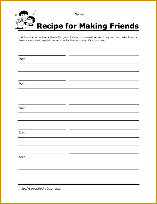 7 therapy Worksheets for Teens