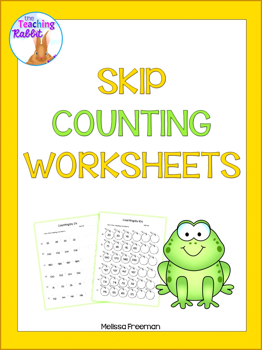 These free skip counting worksheets help students practice counting by and up to also have some full Counting Units in my store Counting Unit for Grade Unit 1190892