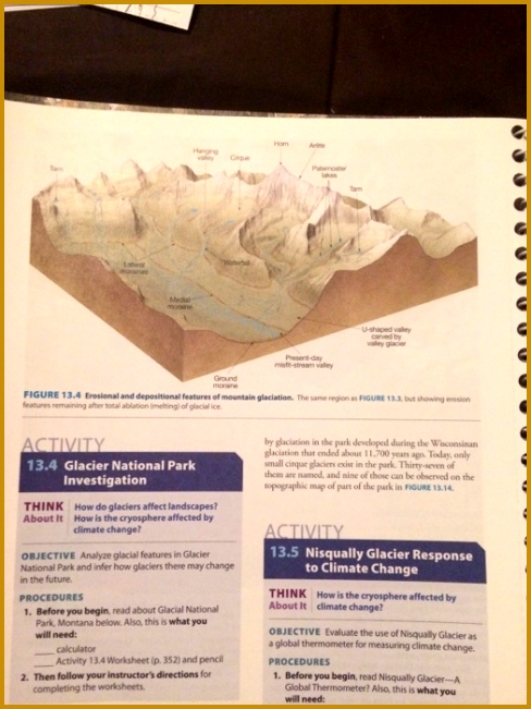 ACTIVITY 13 4 Glacier National Park Investigation Name Course Section Date Refer to the map of Glacier National Park in FIGURE 13 14 A List the fesrures 651488