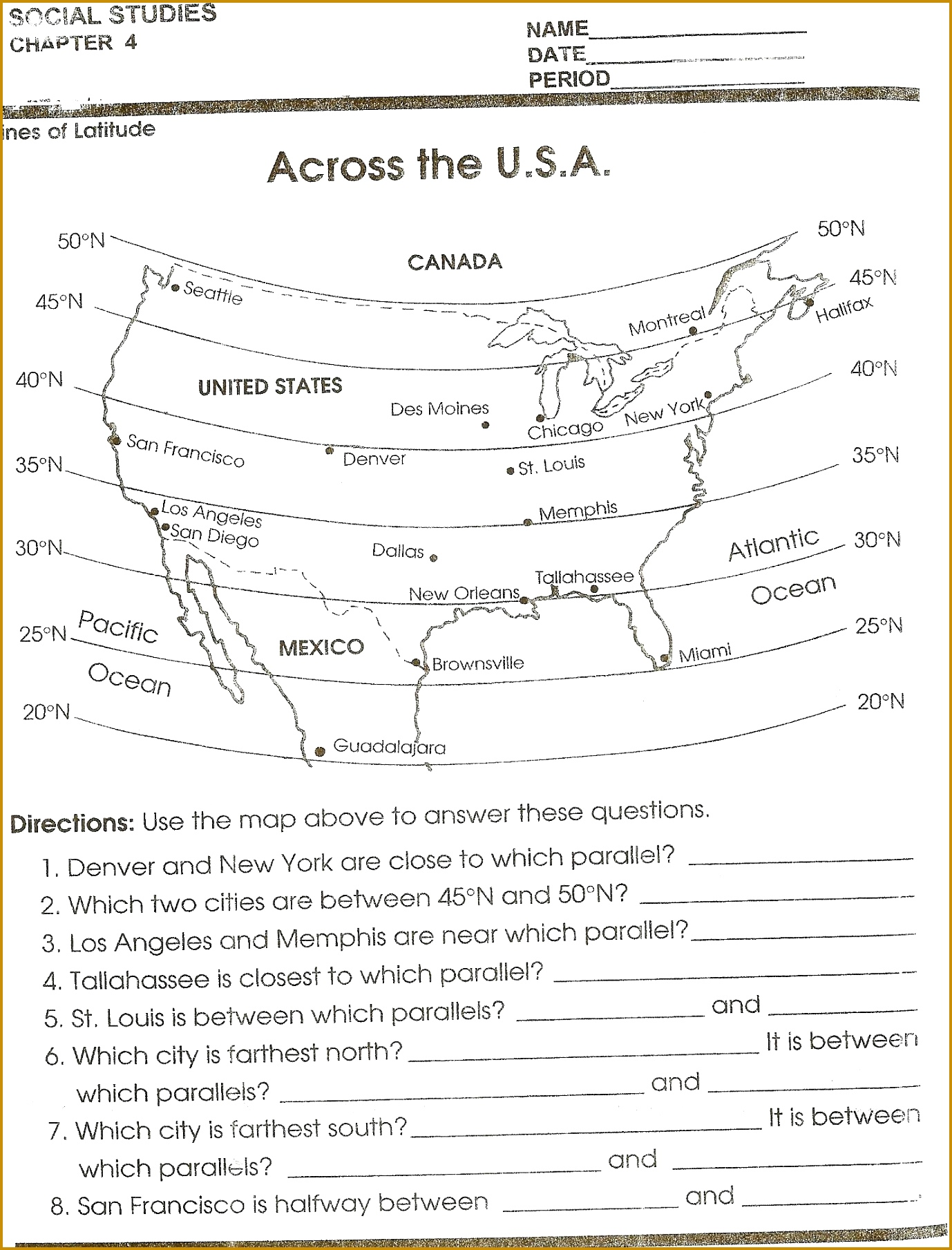 worksheet Map Reading Practice Worksheets Across The Mapping Skill Sheet Island Topographic Worksheet Answers 18091378
