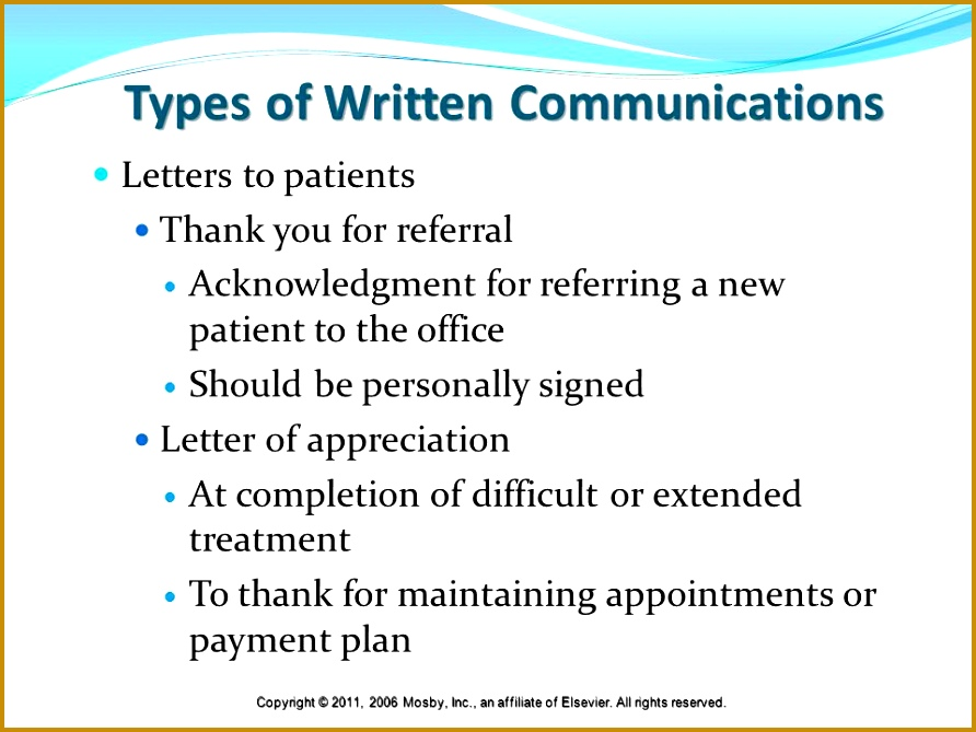 6 Types Of Appreciation Letter