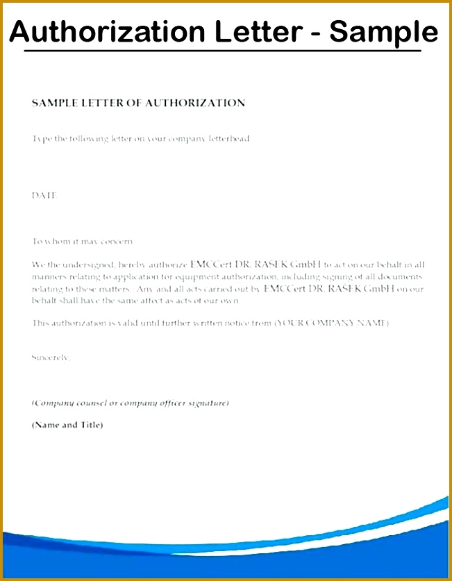 authorization letter sample letter of authorization passport and visa expedite consent letter sample format 837651