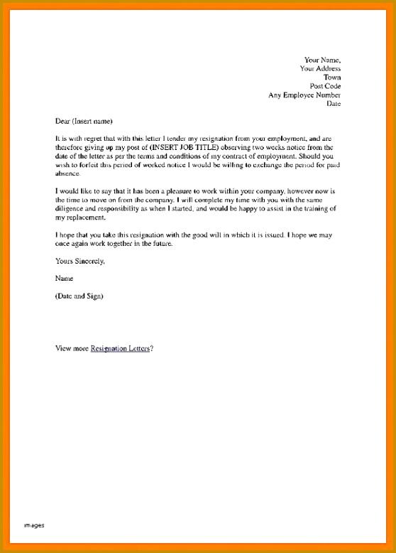 Regretful Resignation Letter Inspirational Resignation Letter Types Choice Image Letter Format Examples 558778