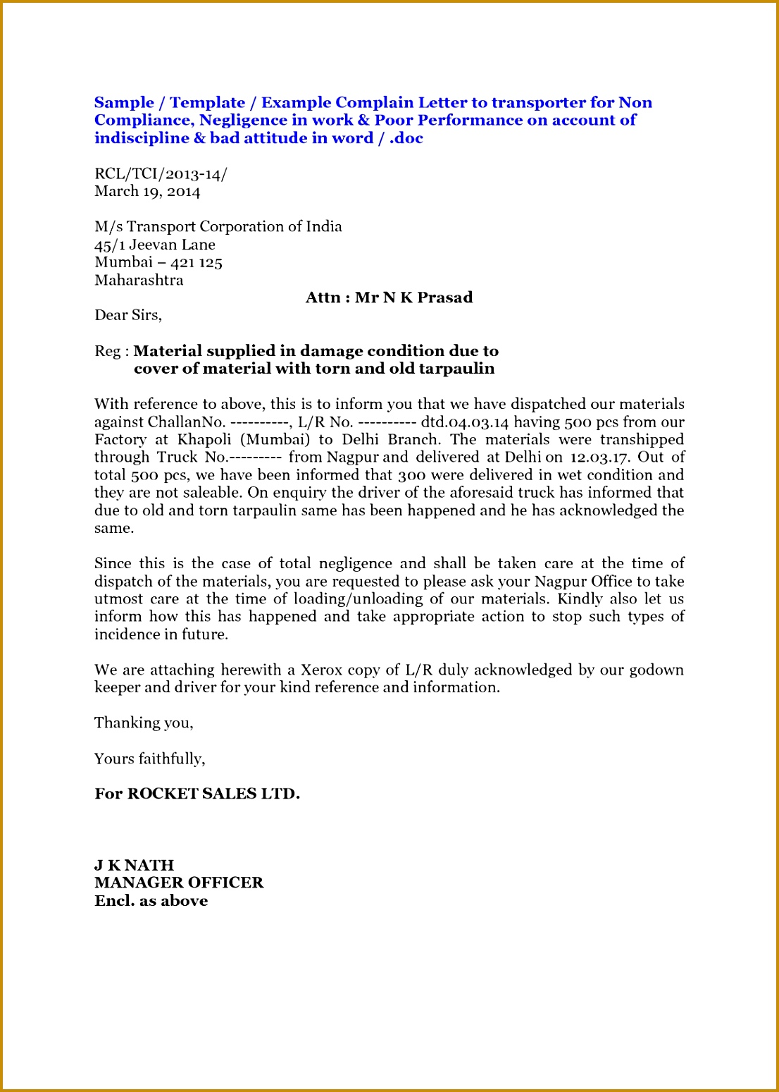 Sample Reprimand Letter for Poor Performance Ftdon Elegant Sample Final Notice Letters 15491106