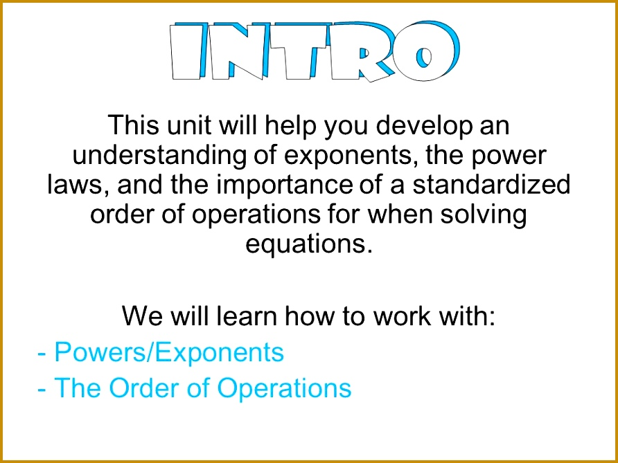 4 Unit 7 Exponent Rules Worksheet 2 Answers