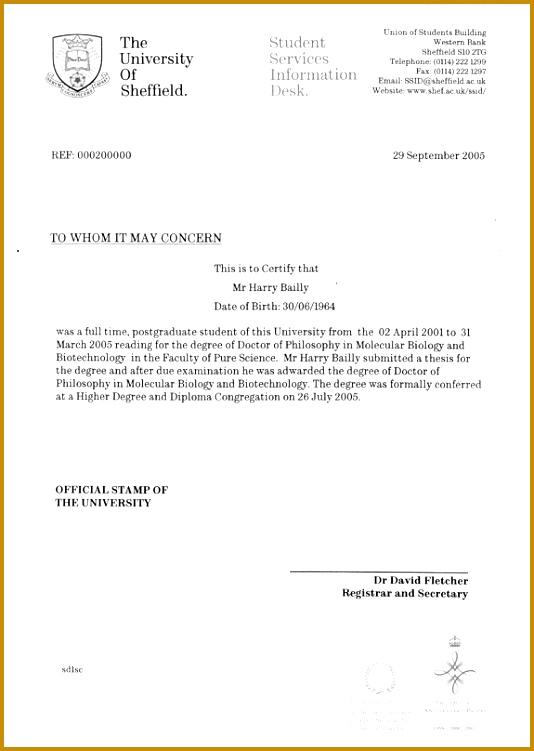 Confirming Letter sample 534751