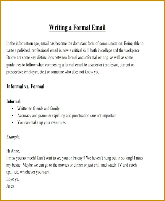 8 Formal E Mail Templates Free Psd Eps Ai Format Download 678558