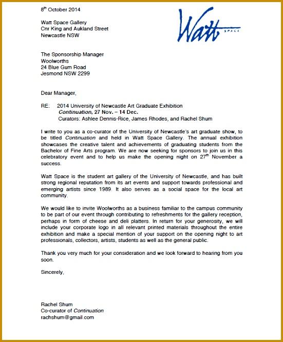 Sponsorship Letter 667551