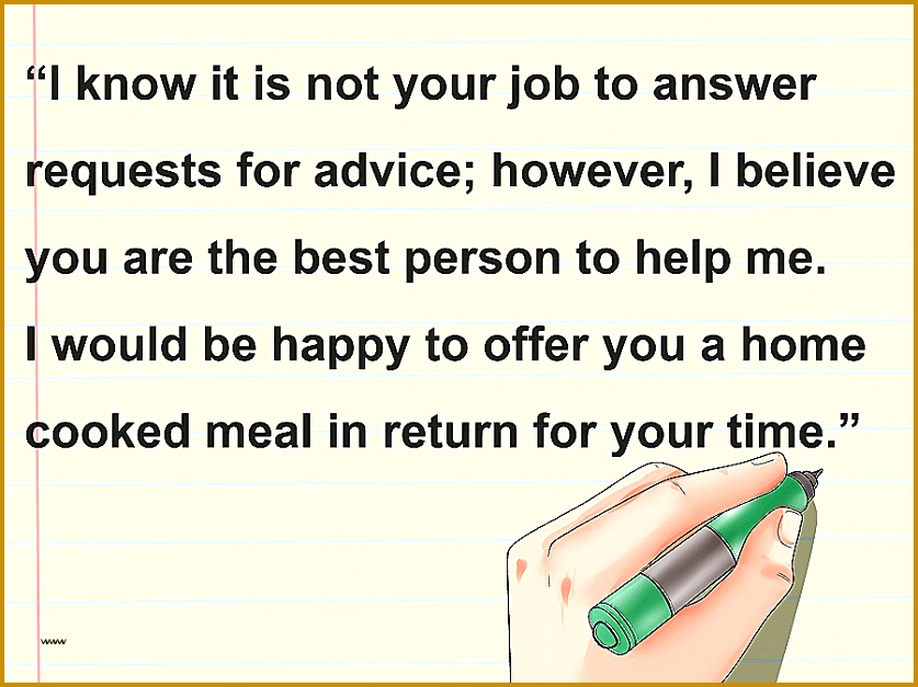 Write a Letter Asking for Advice Step 13 627837