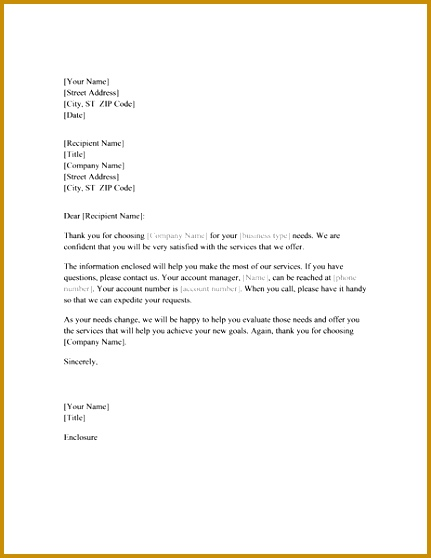 Introductory letter to new client 431558