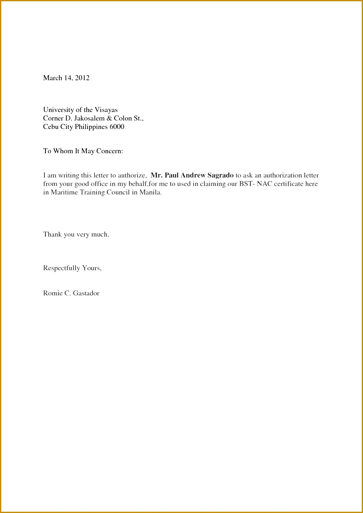 authorize letter sample 11531631