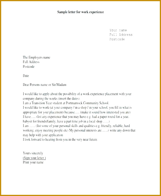 4 work experience confirmation letter sample fabtemplatez work experience confirmation letter sample 41570 employment letter examples nursing cover letter example employment spiritdancerdesigns Images
