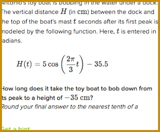 inverse trig word problems 264321