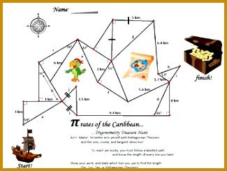 Trig Treasure Map 325245