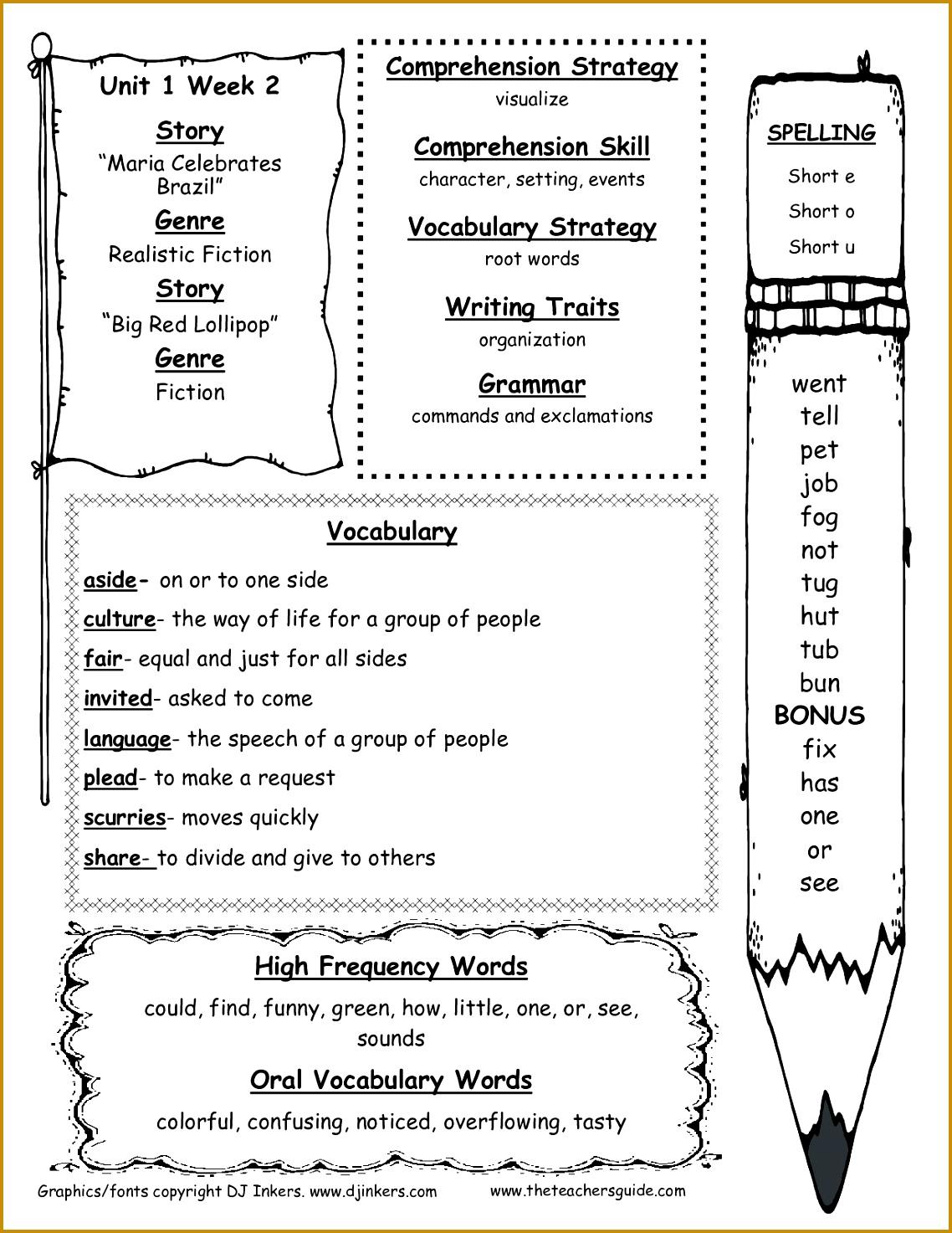 World War 1 Worksheets 06373 Free Second Grade Reading Worksheets